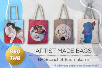 ARTIST MADE BAGS