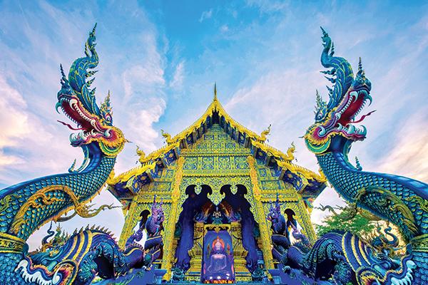 清莱的蓝庙
