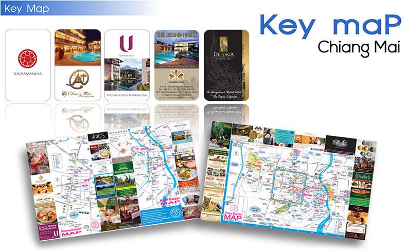 Key maP-Chiang Mai