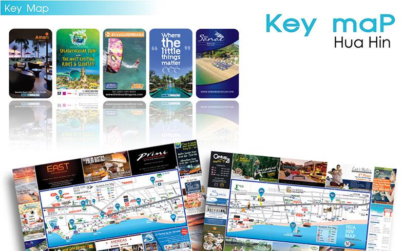 Key map-Hua Hin