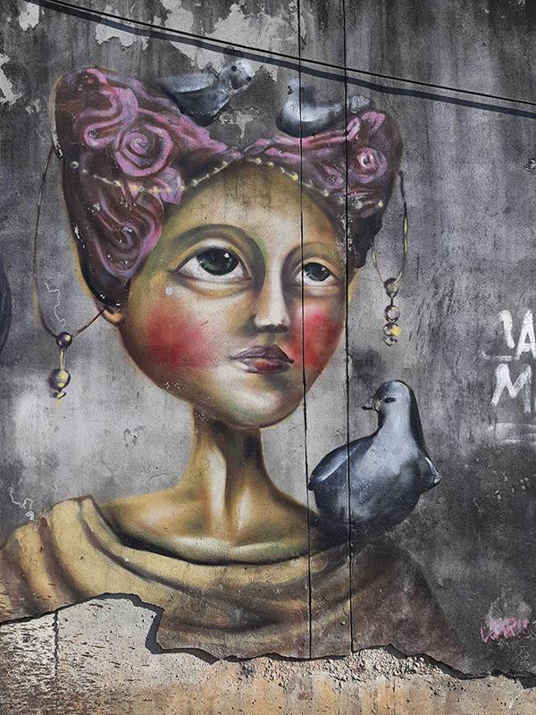 เสน่ห์ของศิลปะบนกำแพง