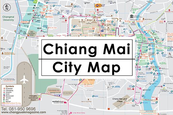 CITY MAP CITY MAP, CHIANG MAI