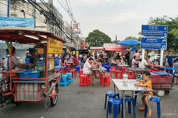 FAMOUS STREET FOOD AREAS