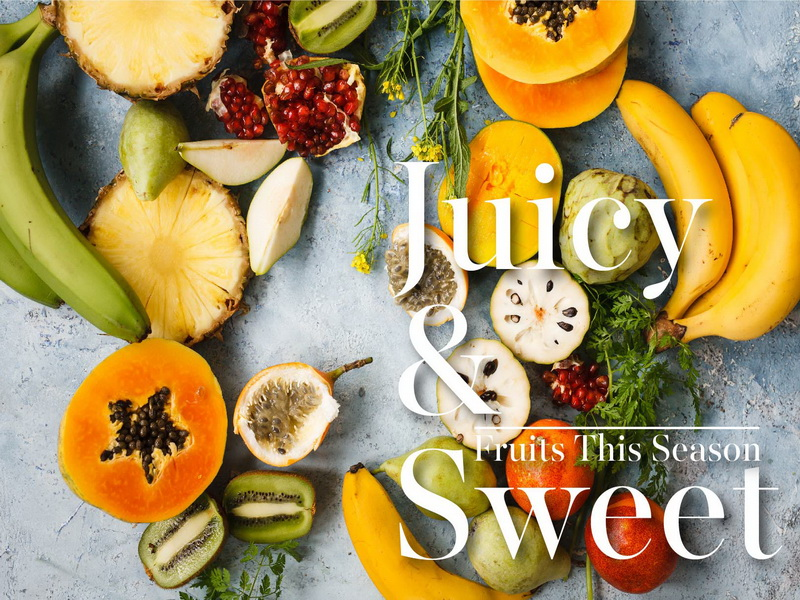 JUICY AND SWEET