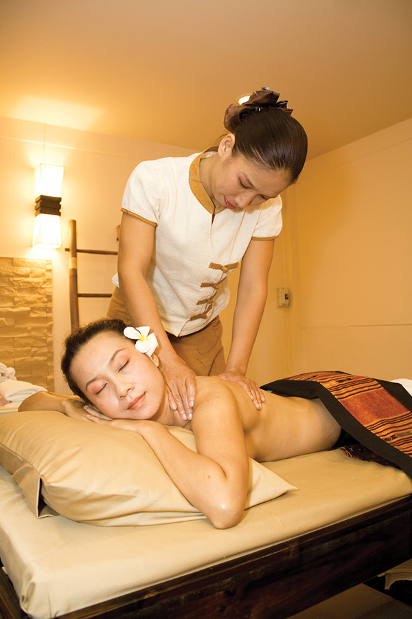 A Pampering Moment