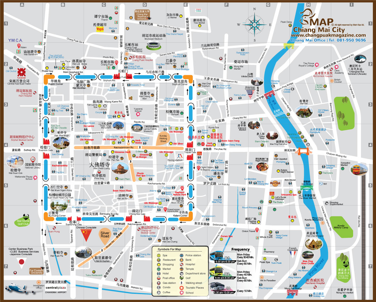 Maps Chang Puak Magazine