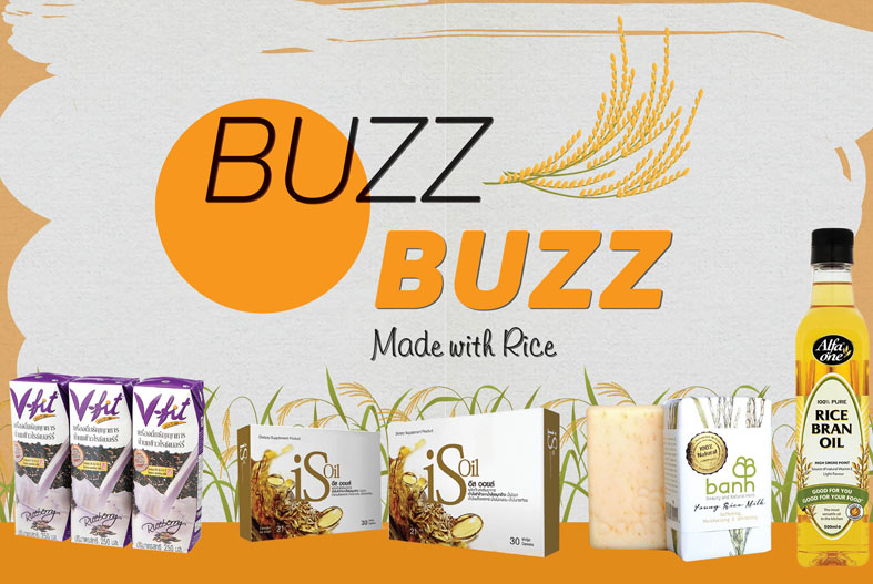 MADE WITH RICE - Buzz Buzz