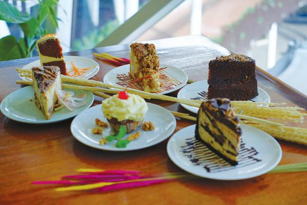 假日季— —享用美味蛋糕
