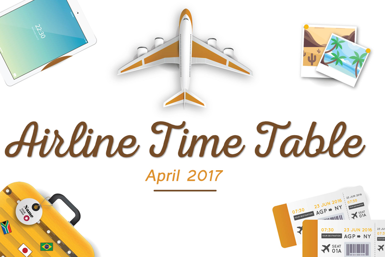 AIRLINES TIME TABLE
