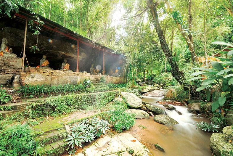 秘密 丛林 寺庙 帕屈叻