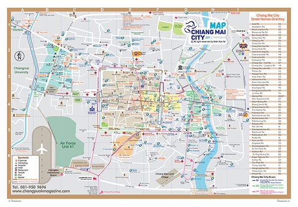 Chiang Mai Map Chiang Mai Map